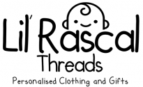 Lil Rascal Threads – Personalised Baby Clothing and Gifts